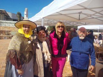 Marta Diaz, Mar Andrés, Agustín y Pepita