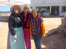 Marta Diaz, Loreto Mayol y Lola